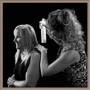 Hair Salon Publicity Image Taken at Lake Oswego Portrait Photography Studio