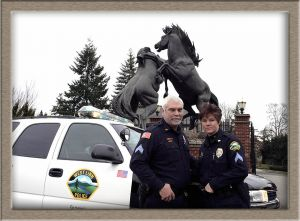 Public Employee Publicity Image Taken in West Linn, Oregon