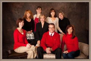 Publicity Image of Entire Office Staff for West Linn Dentist