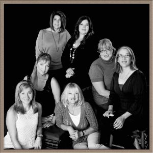 Publicity Image of Hair Salon Stylists at Portrait Photography Studio in Lake Oswego, Oregon