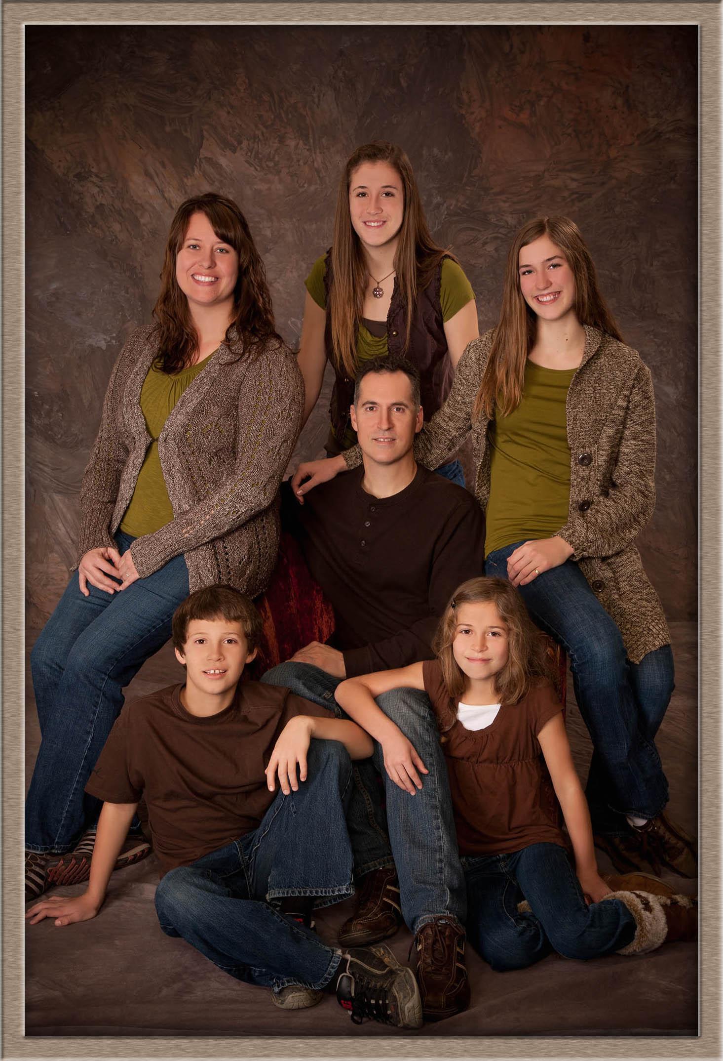 Oregon Family Studio Portrait