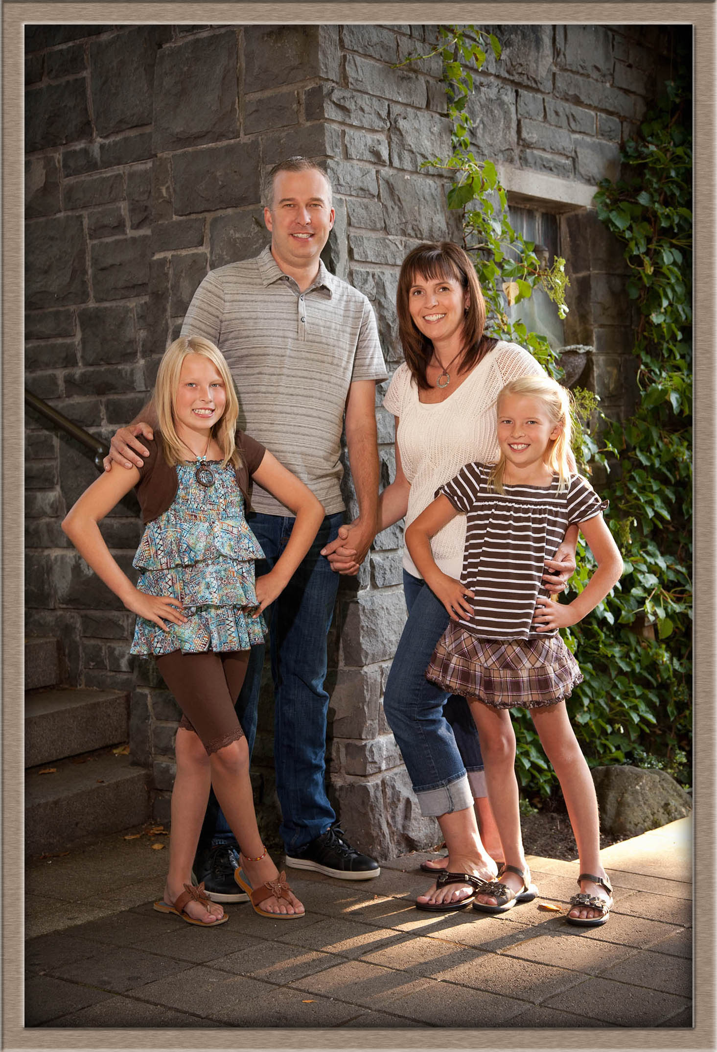 Outdoor Family Portraits | The Hodges Family - Hayne ... |Outdoor Family Photography