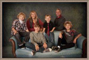 Couture Family Studio Portrait Photography in Lake Oswego, Oregon