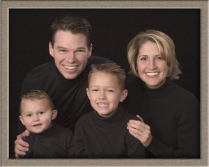 Family Studio Portrait Photography Photographed in Lake Oswego, Oregon