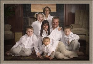 In-Home Family Portrait Photography in Lake Oswego Oregon