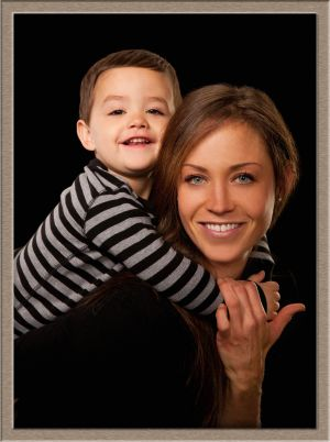 Mother and Little Boy Portrait Taken at Ollar Photography in Lake Oswego, Oregon