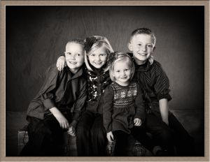 Brothers and Sisters Studio Portrait Photography at Ollar Photography in Lake Oswego Oregon