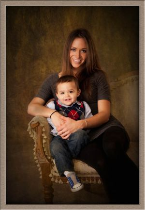 Children's Photography of Two-Year-Old and His Mom at Ollar Photography