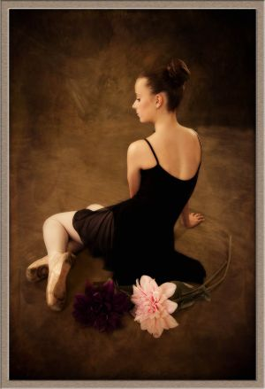 Little Ballerina from Happy Valley, Oregon at Ollar Photography Studio