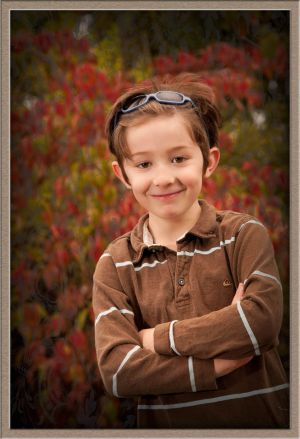 Environmental Children's Portrait Photography in Lake Oswego