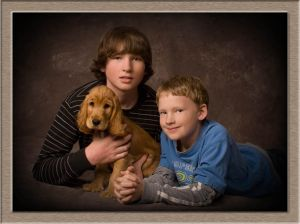 Portrait Photography of Brothers from Lake Oswego, Oregon