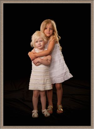 Sisters from Portland at Our Lake Oswego, Oregon Studio