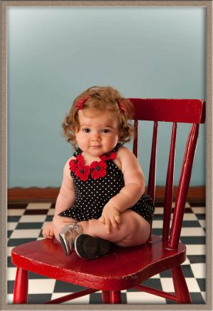 Baby Portrait Photography with Modern Pizzazz in Lake Oswego, Oregon Studio