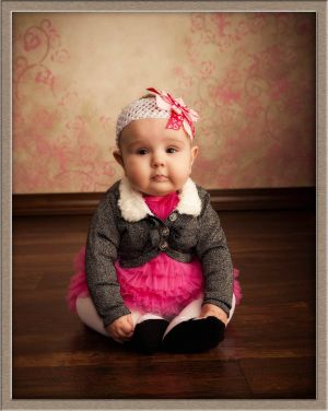 Cute Baby Portrait Photography at Ollar Photography in Lake Oswego, Oregon
