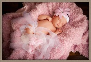 Sleeping Beauty from Sherwood Oregon at Ollar Photography Family Portrait Studio