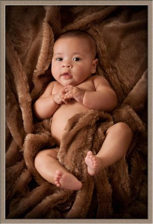 Studio Portrait Photography of 3-Month Old Baby