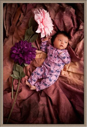 Vibrant Newborn Baby Photography in Lake Oswego, Oregon