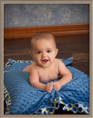 Couture Baby Studio Portrait