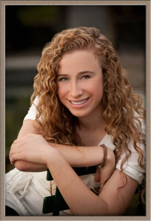 High School Senior Portrait at Millennium Park, Lake Oswego, Oregon