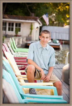 High School Senior Portrait On-Location in Lake Oswego. Oregon