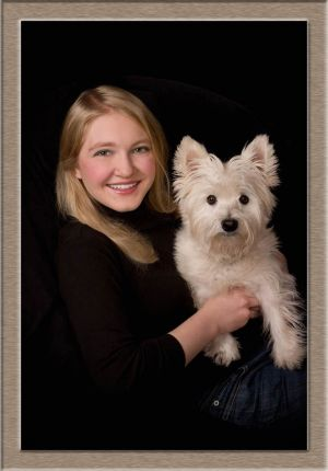 Lake Oswego High School Senior Portrait in Studio