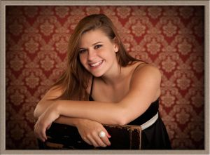 Tigard High School Senior Portrait in Lake Oswego Portrait Studio