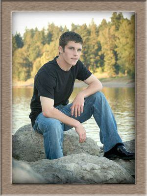 Wilsonville High School Senior Portrait Outdoors