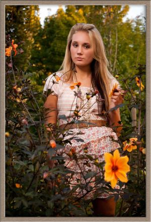 Beautiful Canby High School Senior Girls Portrait by Ollar Photography Family Portrait Studio in Lake Oswego, Oregon
